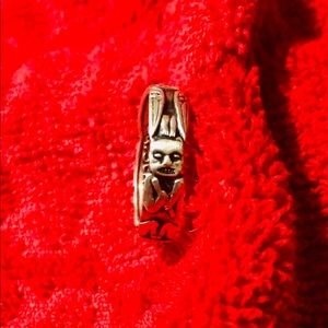 Sterling Silver Totem Poll Ring